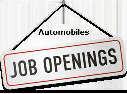 job openings in automobiles